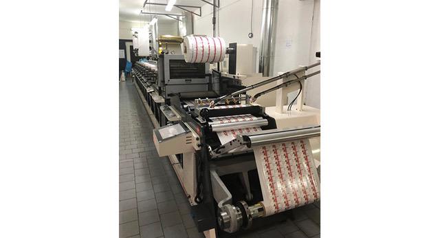 Nilpeter press assists flexible packaging printer
