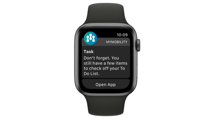 Zimmer Unveils New Features of mymobility With Apple Watch