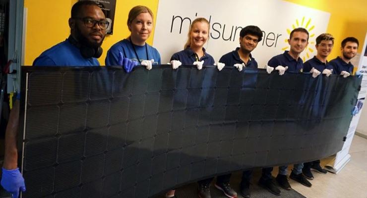 Midsummer Presents 1st 500W Solar Panel Midsummer Magnum