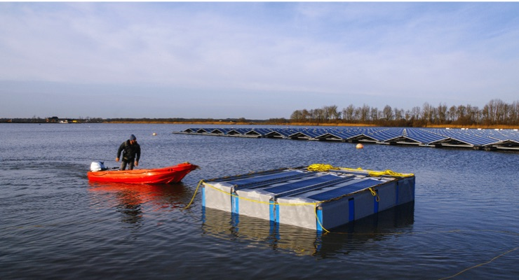 Solliance: Floating Thin-film Solar Module Testing Started