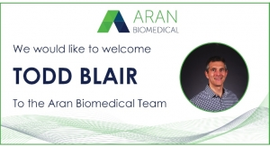 Aran Biomedical Appoints VP of Sales & Business Development
