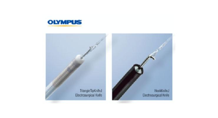 Olympus Launches HookKnifeJ, TriangleTipKnifeJ Electrosurgical Knives