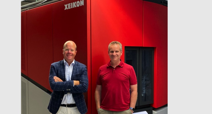 Interket Group invests in new Xeikon digital press