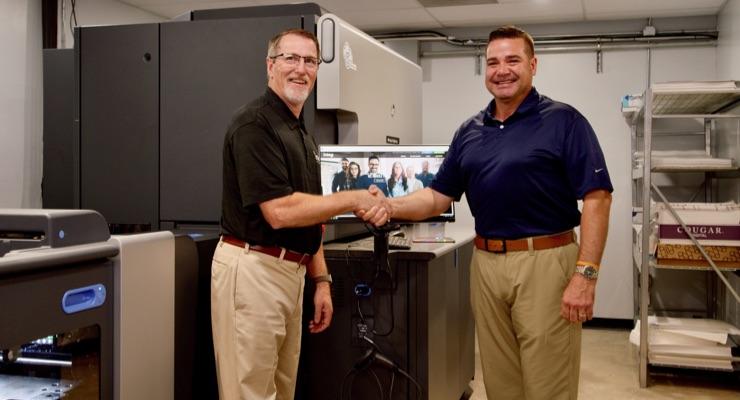 Integ Installs 1st HP Indigo 7K Digital Press