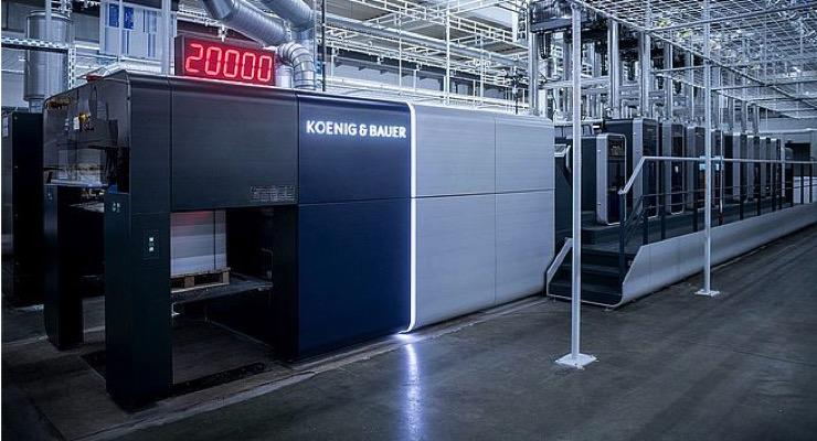 Koenig & Bauer Launches Rapida 106 X