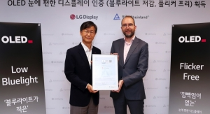 LG Display's OLED TV Displays Certified, Verified as