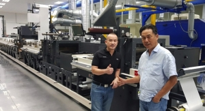 Master Label Installs Largest Nilpeter Flexo Press in Indonesia