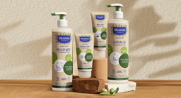 Mustela Launches Organic Essentials Line in Sugar Cane Packaging