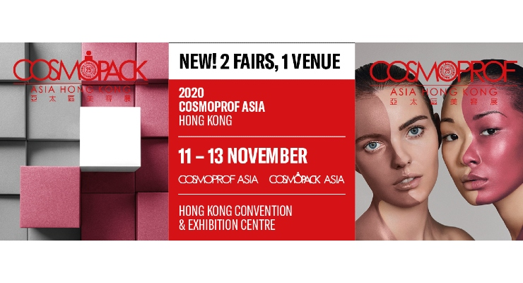 Cosmopack and Cosmoprof Asia To Be Held Under One Roof