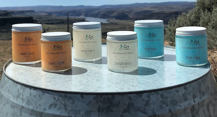 New Columbia Naturals Topical CBD Lotions Launch in Jars