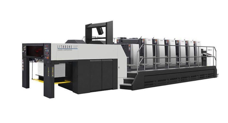 Ohio State University In-plant Installs Komori GL537 Press