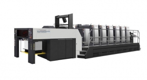 Ohio State University In-plant Installs Komori GL537 Press