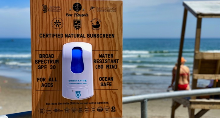 Rhode Island Offers Free Sunscreen