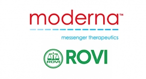Moderna and ROVI Ink Fill-Finish Deal