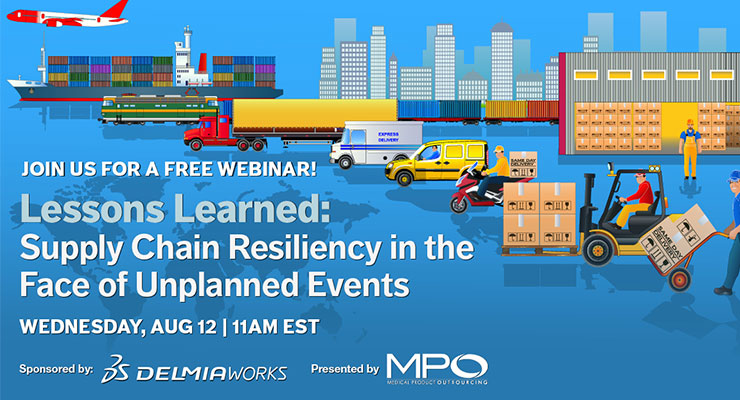 Lessons Learned: Supply Chain Resiliency in the Face of Unplanned Events