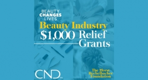 Beauty Changes Lives Awards $250K in Relief Grants