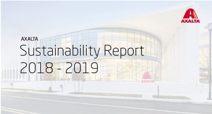 Axalta Releases 2018-19 Sustainability Report