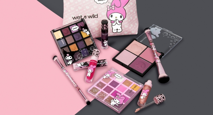 Wet n Wild Partners with Sanrio