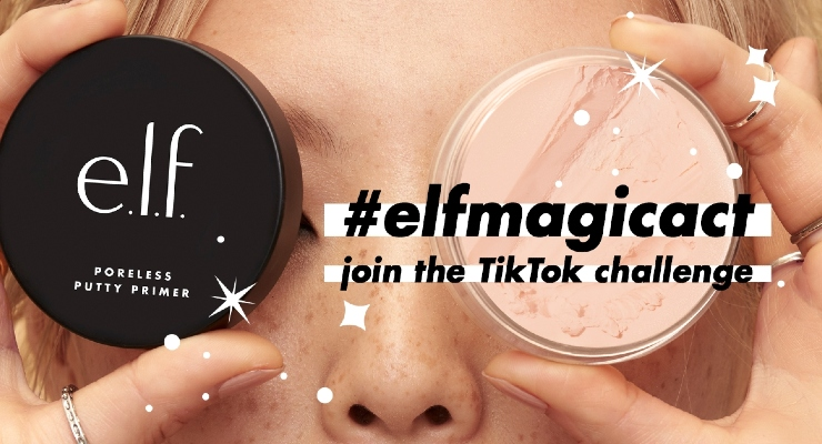 e.l.f. Cosmetics Goes Viral on TikTok