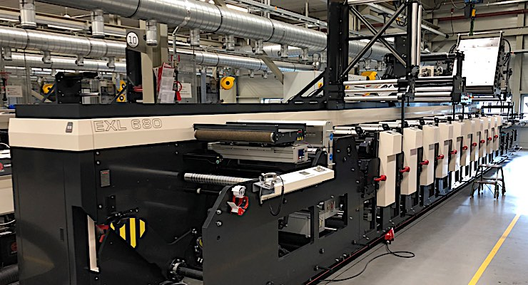 Inland Packaging Installs MPS Flexo Press