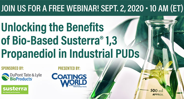 Unlocking the Benefits of Bio-Based Susterra® 1,3 Propanediol in Industrial PUDs