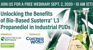 Unlocking the Benefits of Bio-Based Susterra? 1,3 Propanediol in Industrial PUDs