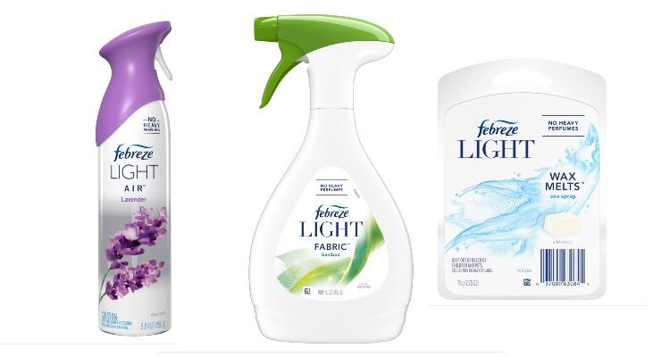 P&G Unveils Febreze Light