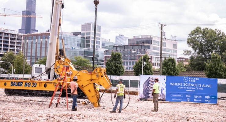 Trammell Crow Breaks Ground at New Lab Facility