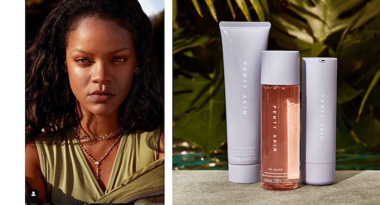 Rihanna's New Fenty Skin Includes Refillable Packaging