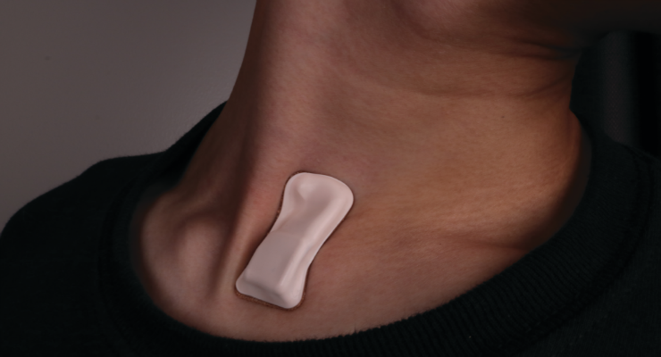 Wearable COVID-19 Sensor Monitors Symptoms, Disease Progression and Treatment Response