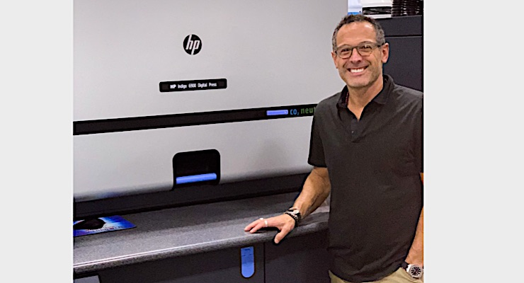 Two HP Indigo presses arrive in New York