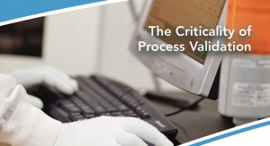 The Criticality of Process Validation