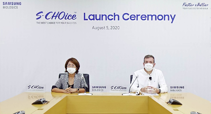 Samsung Biologics Launches S-CHOice