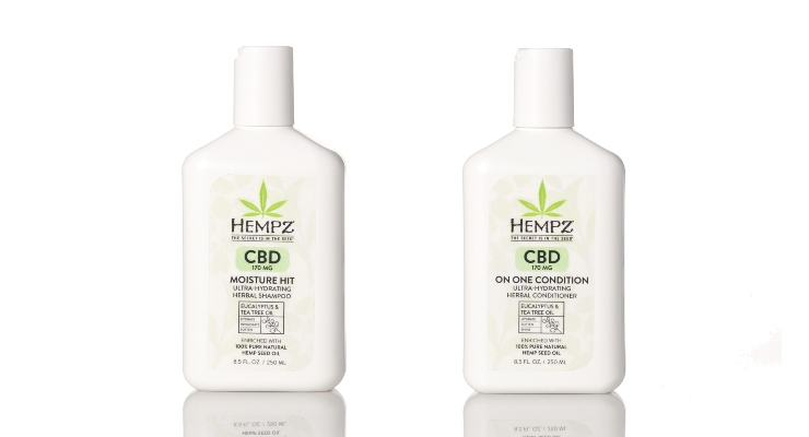 Hempz Debuts Hair Care Collection