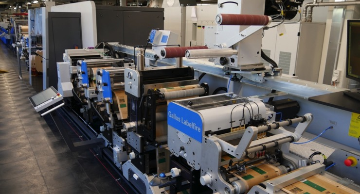 Gallus Labelfire with Low Migration Passes Field Test at SCHELLING AG