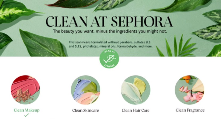 Sephora Gets Cleaner...and Cheaper