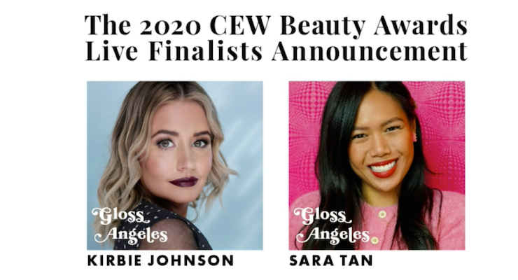CEW Recruits Gloss Angeles to Announce 2020 Beauty Award Finalists