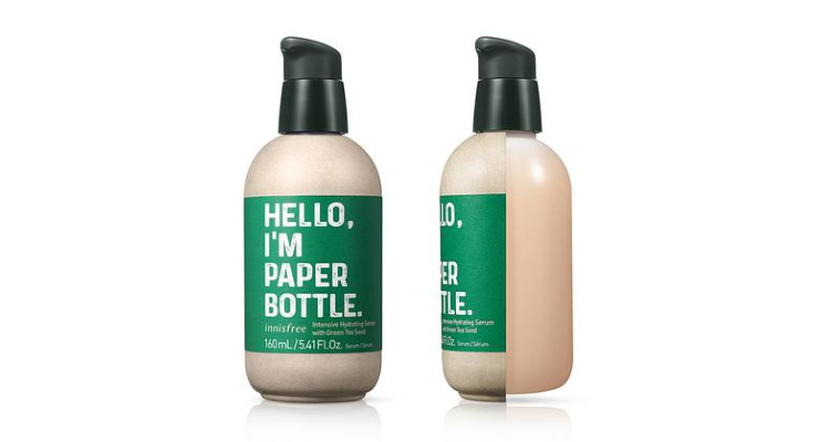 Innisfree Unveils Paper Bottle