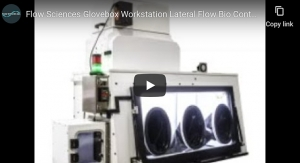 Flow Sciences Glovebox Workstation Lateral Flow Bio Containment Isolator for HPAPI Processing