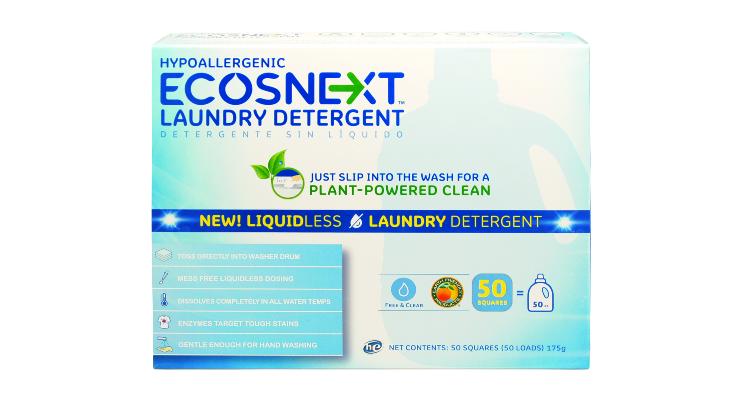 Ecos Unveils Liquidless Detergent