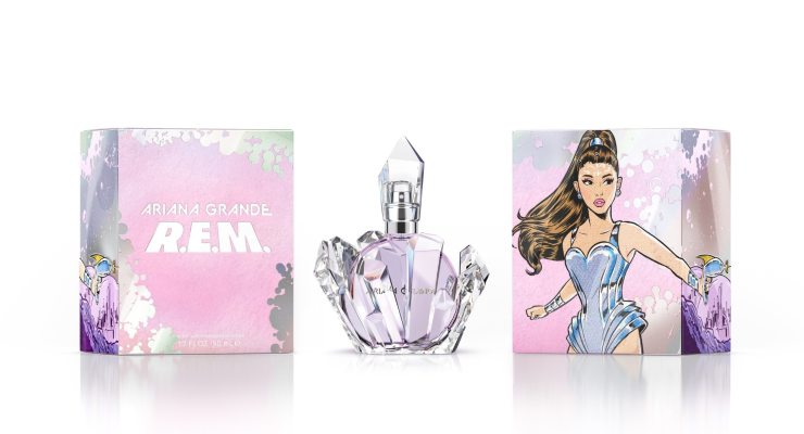 Ariana Grande Debuts New Fragrance