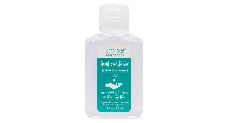 Thrive Causemetics Launches Moisturizing Hand Sanitizer