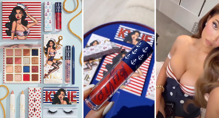 Kylie Cosmetics To Launch Sailor Summer Collection