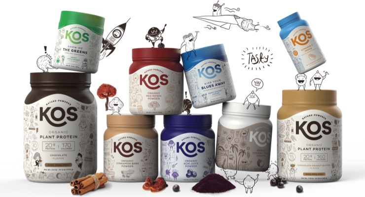 Plant-Based Brand KOS Secures $2.1 Million in Funding Round