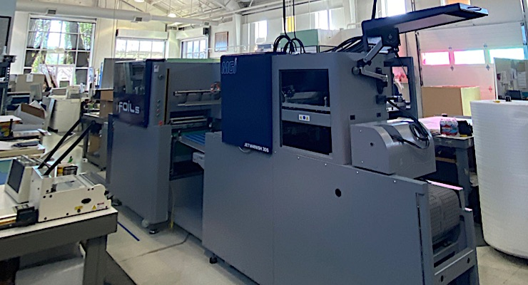 Konica Minolta installs new MGI JETvarnish 3DS with iFOIL in Colorado