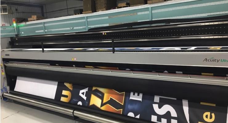 Newman Print Adds 5-meter FUJIFILM Acuity Ultra Printer