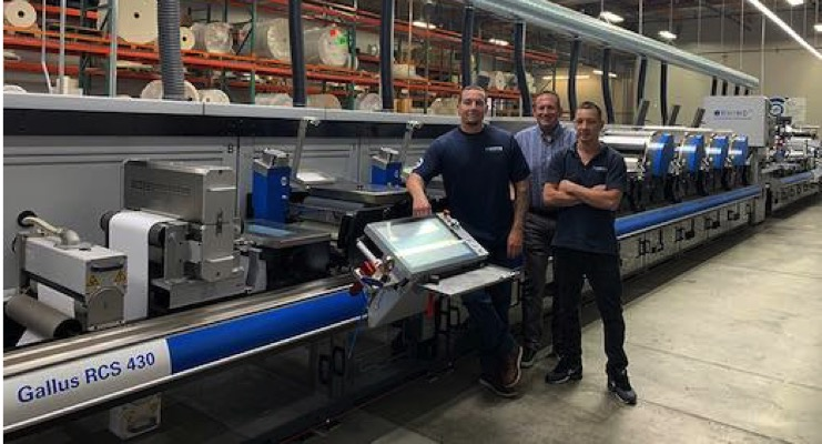 Fortis Solutions Group Facility Installs Gallus RCS 430