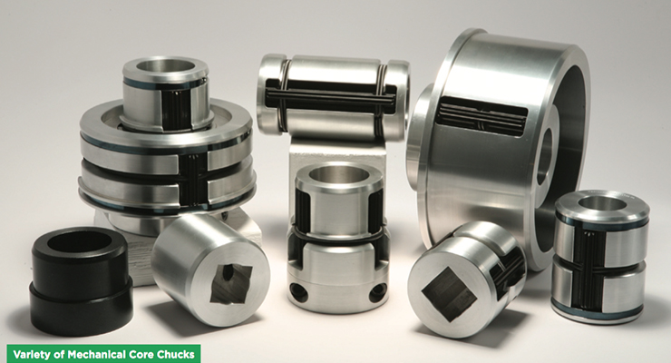 Self Locking Mechanical Core Chucks & Mandrels