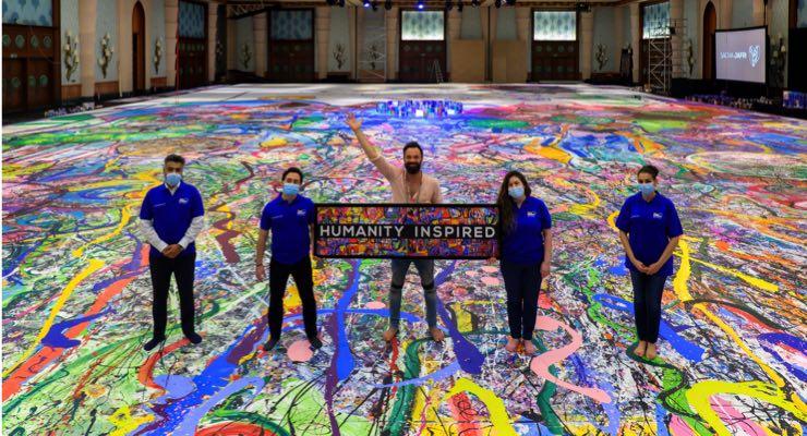 AkzoNobel Supporting Artist Sacha Jafri's World Record Attempt
