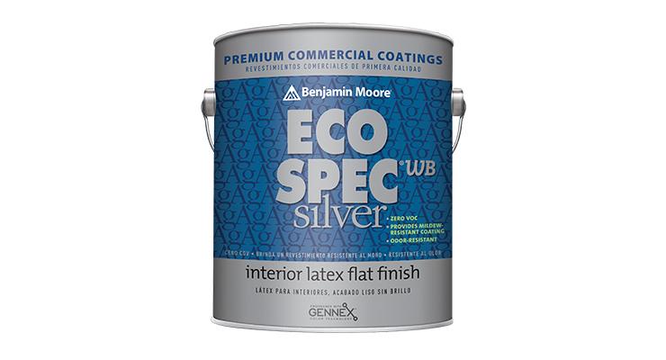 Benjamin Moore Unveils Eco Spec WB Silver Interior Paint